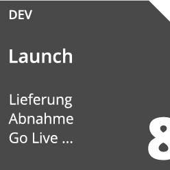 Softwareentwicklung Launch