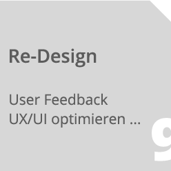 Softwareentwicklung Re-Design